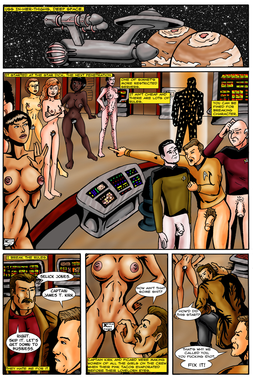 star trek pale android skinned Liru  wolf girl with you