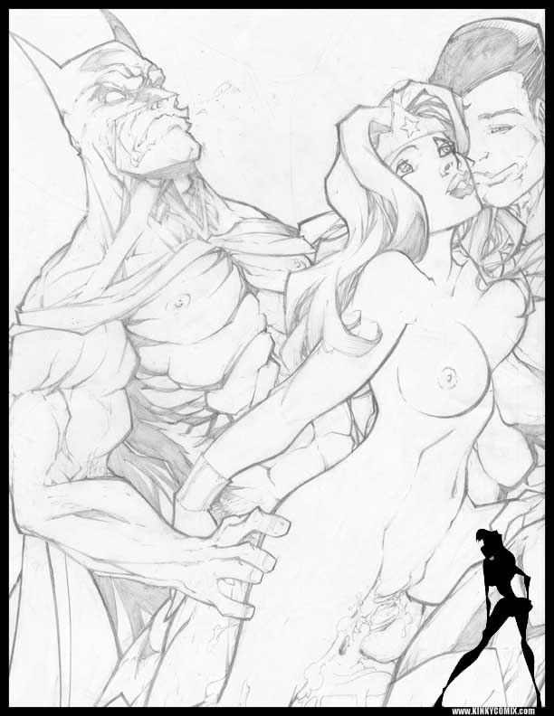 superman wonder hentai woman and Rouge the bat x tails