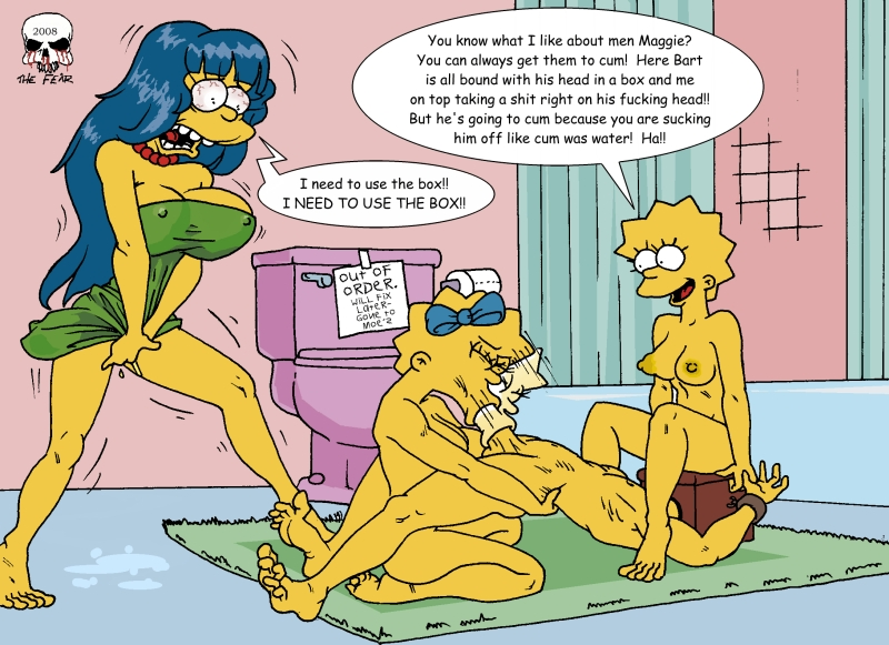 multiverse into the the simpsons My little pony comic porno