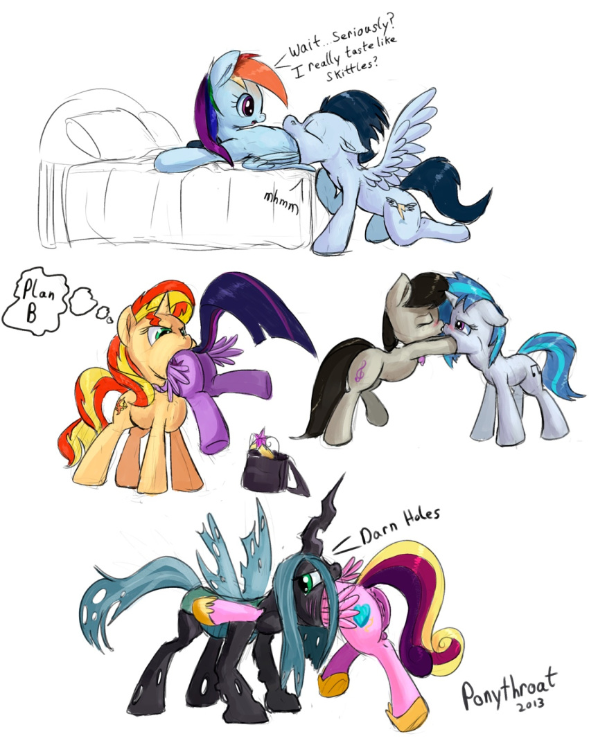 rainbow dash and scratch vinyl Naruto and erza pregnant fanfiction