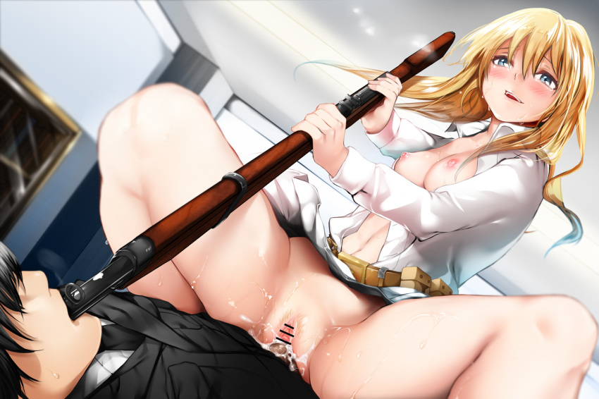 girls frontline an-94 Spark a space tail vix