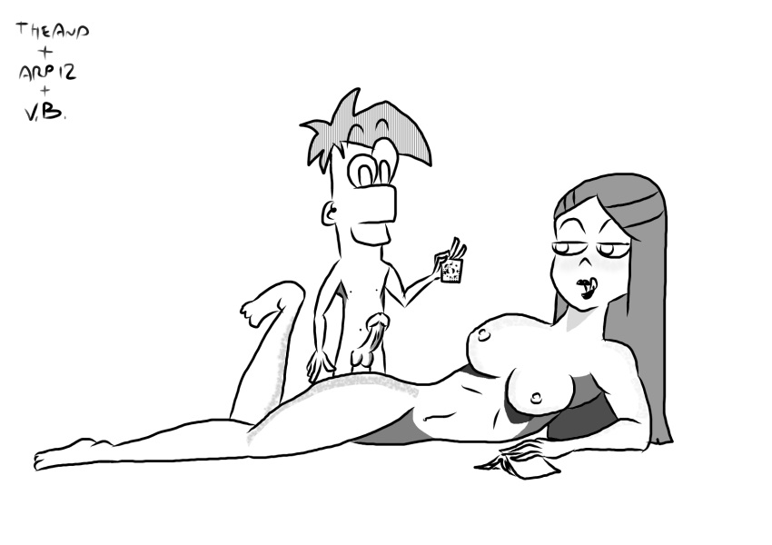 ferb and stacy naked phineas In another world with my smartphone hentia