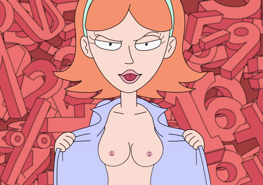 sexy and morty summer naked rick Wow blood queen lana thel
