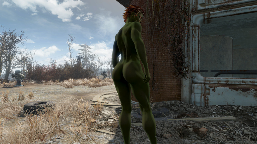sex with fallout 4 cait Dryad trials in tainted space