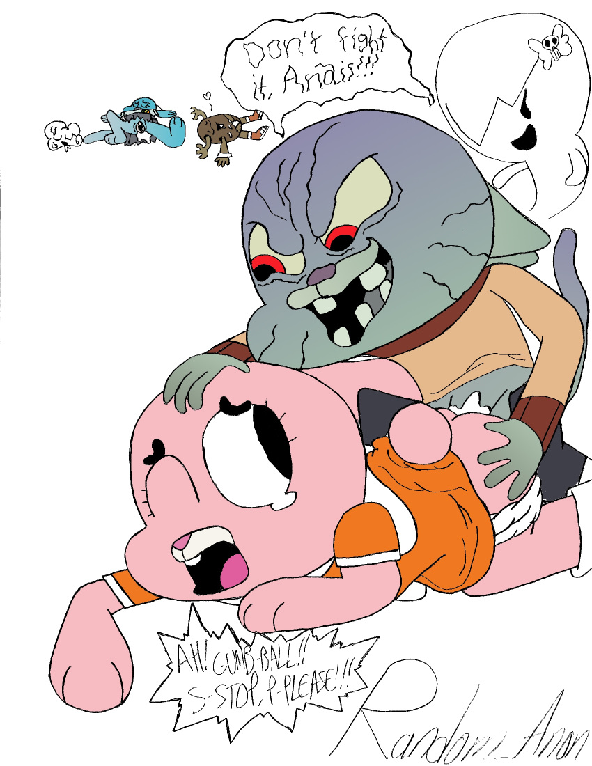 gumball of world amazing Kim vs kaa to coil a spy